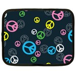 Peace & Love Pattern Netbook Case (Large)