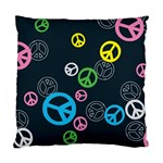 Peace & Love Pattern Standard Cushion Case (Two Sides)