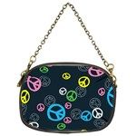 Peace & Love Pattern Chain Purses (Two Sides)
