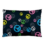 Peace & Love Pattern Pillow Case