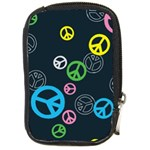 Peace & Love Pattern Compact Camera Cases