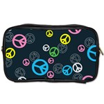 Peace & Love Pattern Toiletries Bags