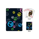 Peace & Love Pattern Playing Cards (Mini)