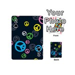 Peace & Love Pattern Playing Cards 54 (Mini)