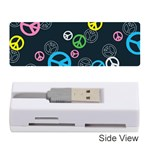 Peace & Love Pattern Memory Card Reader (Stick)