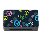 Peace & Love Pattern Memory Card Reader with CF