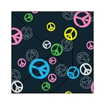 Peace & Love Pattern Acrylic Tangram Puzzle (6  x 6 )