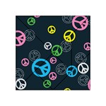 Peace & Love Pattern Acrylic Tangram Puzzle (4  x 4 )