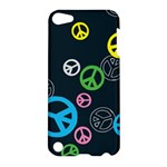 Peace & Love Pattern Apple iPod Touch 5 Hardshell Case