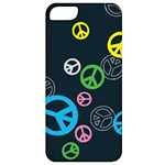 Peace & Love Pattern Apple iPhone 5 Classic Hardshell Case