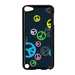 Peace & Love Pattern Apple iPod Touch 5 Case (Black)