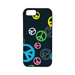Peace & Love Pattern Apple iPhone 5 Classic Hardshell Case (PC+Silicone)