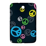 Peace & Love Pattern Samsung Galaxy Note 8.0 N5100 Hardshell Case