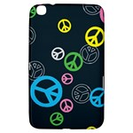 Peace & Love Pattern Samsung Galaxy Tab 3 (8 ) T3100 Hardshell Case