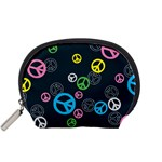 Peace & Love Pattern Accessory Pouches (Small)