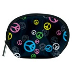 Peace & Love Pattern Accessory Pouches (Medium)