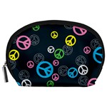 Peace & Love Pattern Accessory Pouches (Large)