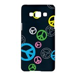 Peace & Love Pattern Samsung Galaxy A5 Hardshell Case