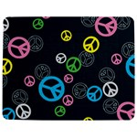 Peace & Love Pattern Jigsaw Puzzle Photo Stand (Rectangular)