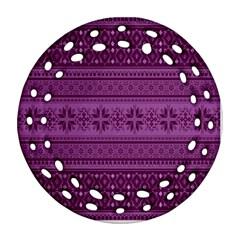 Pattern Ornament (round Filigree) by Valentinaart