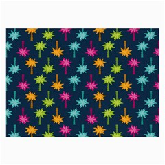 Funny Palm Tree Pattern Large Glasses Cloth by tarastyle
