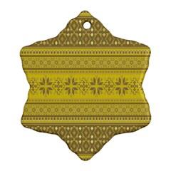 Pattern Ornament (snowflake) by Valentinaart
