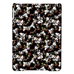 Dark Chinoiserie Floral Collage Pattern Ipad Air Hardshell Cases by dflcprints