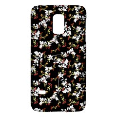 Dark Chinoiserie Floral Collage Pattern Galaxy S5 Mini by dflcprints