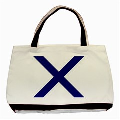 Saint Andrew s Cross Basic Tote Bag by abbeyz71