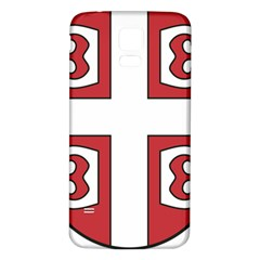 Serbian Cross Shield Samsung Galaxy S5 Back Case (white) by abbeyz71