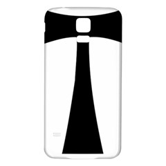 Tau Cross  Samsung Galaxy S5 Back Case (white) by abbeyz71