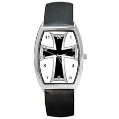 Cross Of The Teutonic Order Barrel Style Metal Watch by abbeyz71