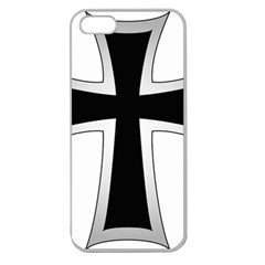 Cross Of The Teutonic Order Apple Seamless Iphone 5 Case (clear) by abbeyz71