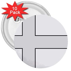Cross Of Philip The Apostle 3  Buttons (10 Pack)  by abbeyz71