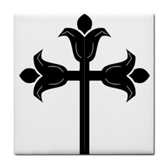 Caucasian Albanian Cross Tile Coasters by abbeyz71