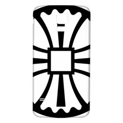 Canterbury Cross  Samsung Galaxy S5 Back Case (white) by abbeyz71