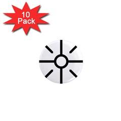 Coptic Cross 1  Mini Magnet (10 Pack)  by abbeyz71