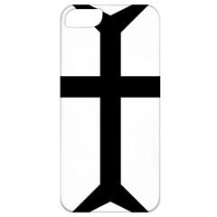 Eastern Syriac Cross Apple Iphone 5 Classic Hardshell Case by abbeyz71