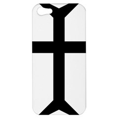 Eastern Syriac Cross Apple Iphone 5 Hardshell Case by abbeyz71