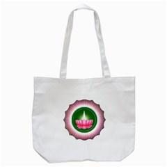 Ayyavazhi Symbol  Tote Bag (white) by abbeyz71