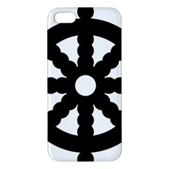 Dharmacakra Apple Iphone 5 Premium Hardshell Case by abbeyz71