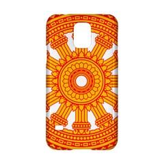 Dharmacakra Samsung Galaxy S5 Hardshell Case  by abbeyz71