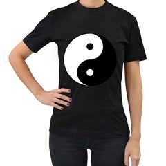 Yin & Yang Women s T Shirt (black) by abbeyz71