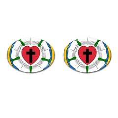 Luther Rose Cufflinks (oval) by abbeyz71