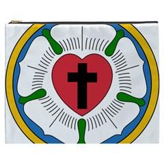 Luther Rose Cosmetic Bag (xxxl)  by abbeyz71