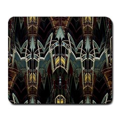 Urban Industrial Rust Grunge Large Mousepads by CrypticFragmentsDesign