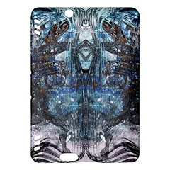 Angel Wings Blue Grunge Texture Kindle Fire Hdx Hardshell Case by CrypticFragmentsDesign