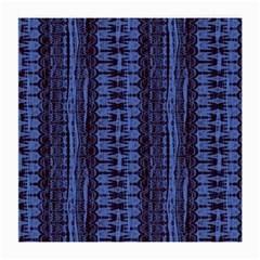 Wrinkly Batik Pattern   Blue Black Medium Glasses Cloth by EDDArt