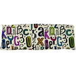 Colorful Retro Style Letters Numbers Stars Body Pillow Case Dakimakura (Two Sides)