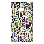 Colorful Retro Style Letters Numbers Stars Nokia Lumia 720